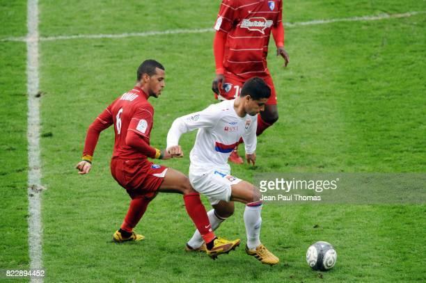 EDERSON / Jacques Alaixys ROMAO Lyon / Grenoble 30eme journee de Ligue 1