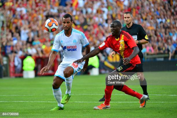 Jacques Alaixys Romao / Adama Coulibaly Lens / Marseille Match Amical Photo Dave Winter / Icon Sport