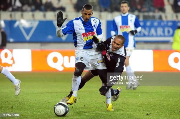 Jacques Alaixys ROMAO / JUSSIE Grenoble / Bordeaux 21eme journee de Ligue 1 Stade des Alpes