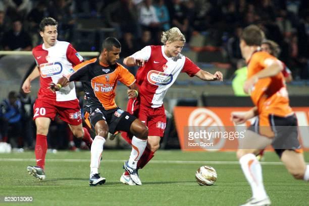 Jacques Alaixys ROMAO / Tomas MICOLA Lorient / Brest 1/16e finale Coupe de la Ligue