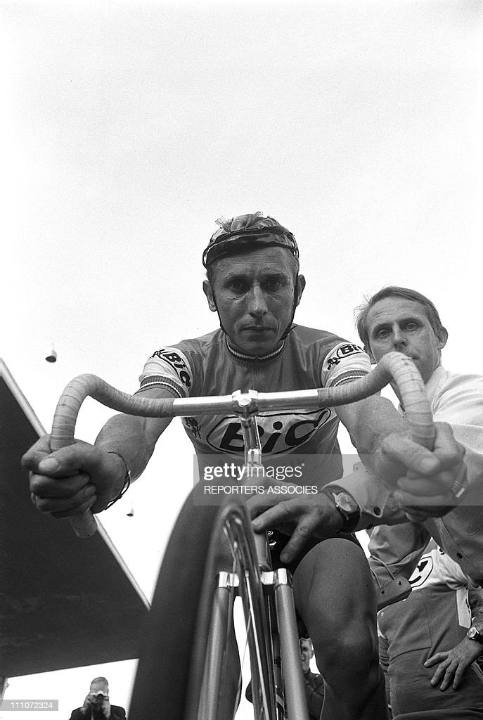 Jacques Anquetil At Besancon Couland In Besancon, France On September 26, 1964. : Photo d'actualité