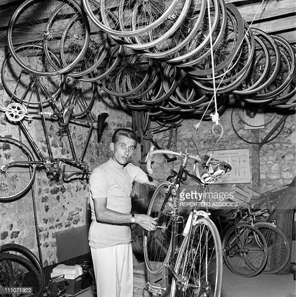 Jacques Anquetil in France on July 01 1962