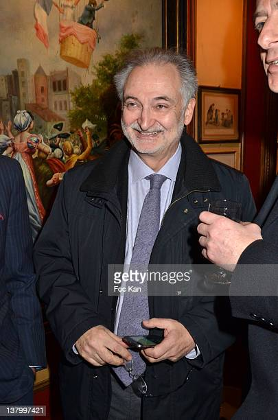 Jacques Attali attends the Procope Des Lumieres' Literary Awards First Edition at the Procope on January 30 2012 in Paris France