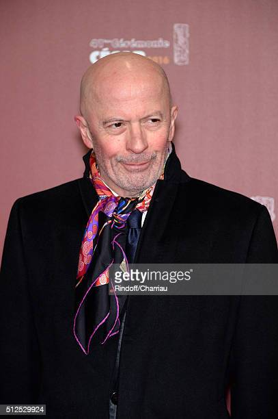 Jacques Audiard arrives at The Cesar Film Awards 2016 at Theatre du Chatelet on February 26, 2016 in Paris, France.