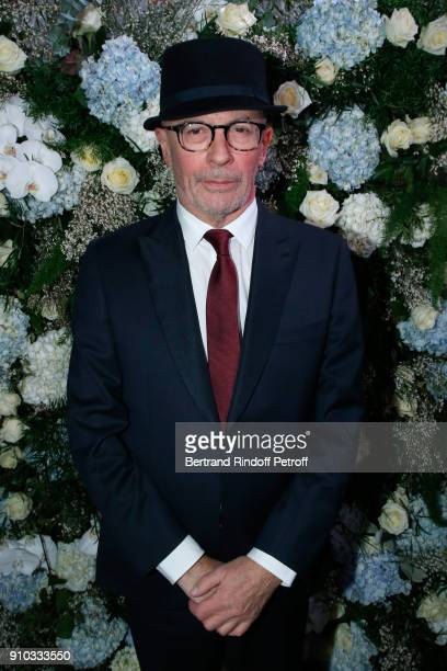 Jacques Audiard attends the 16th Sidaction as part of Paris Fashion Week on January 25 2018 in Paris France