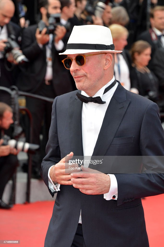 Jacques Audiard attends the closing ceremony and Premiere of 'La Glace Et Le Ciel' ('Ice And The Sky') during the 68th annual Cannes Film Festival on May 24, 2015 in Cannes, France.