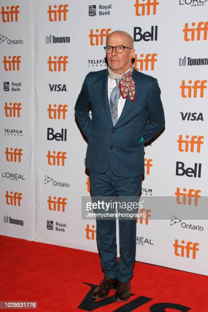 """Jacques Audiard attends the """"The Sisters Brothers"""" Premiere during the 2018 Toronto International Film Festival at Princess of Wales Theatre on..."""