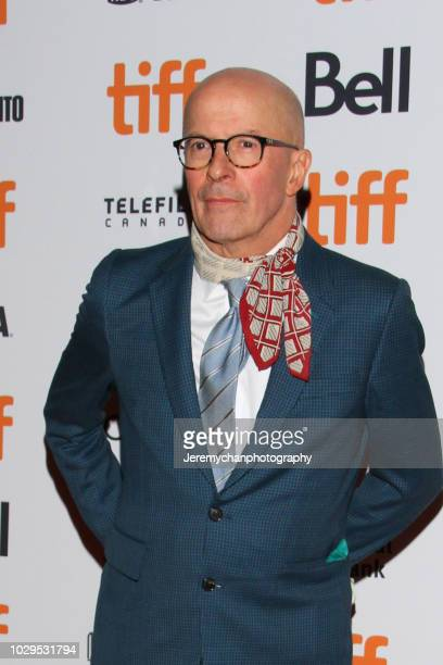Jacques Audiard attends the 'The Sisters Brothers' Premiere during the 2018 Toronto International Film Festival at Princess of Wales Theatre on...