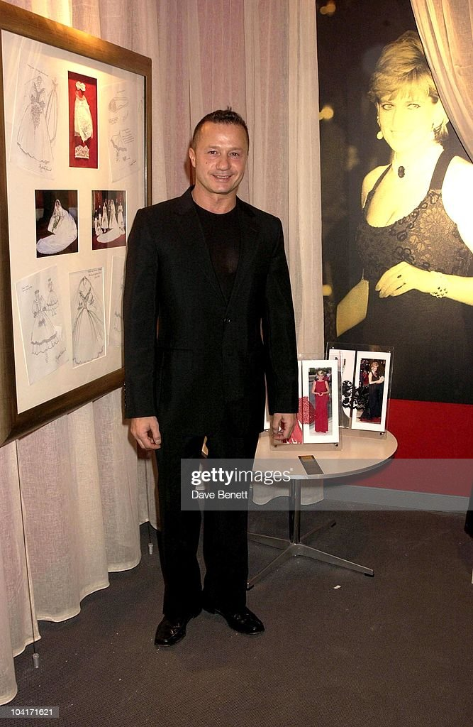 Jacques Azugary With His Diana Designs, Designs Of The Times Auction Launch Party, At The Audi Forum, On Behalf Of The Norwood And Demelza House