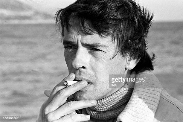 Jacques Brel interviewed on his boat with Chin for the program ''Library of pocket''
