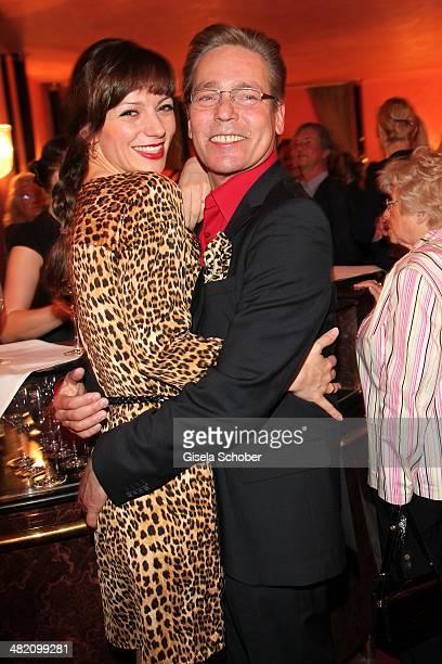 Jacques Breuer and his wife Viola Wedekind attend the 'Othello Darf Nicht Platzen' premiere at Komoedie im Bayerischen Hof on April 2 2014 in Munich...