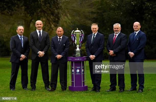 Jacques Brunel Head Coach of France Conor O'Shea Head Coach of Italy Eddie Jones Head Coach of England Joe Schmidt Head Coach of Ireland Warren...