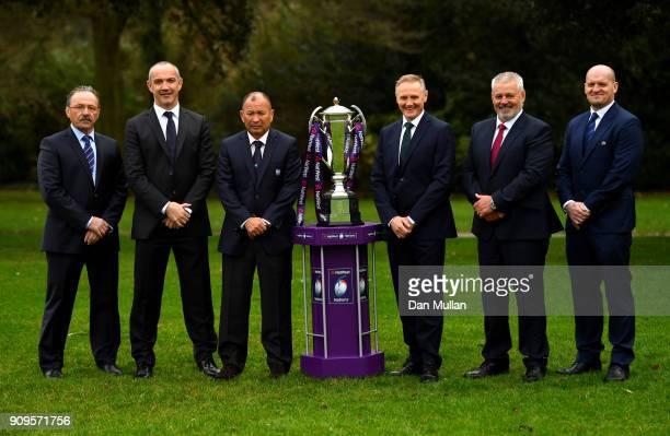 Jacques Brunel Head Coach of France Conor O'Shea Head Coach of Italy Eddie Jones Head Coach of England Joe Schmidt Head Coach of Ireland Warren...