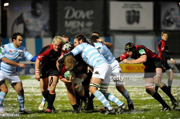 Jacques BURGER Racing Metro 92 / Saracens 4eme Journee de Heineken Cup