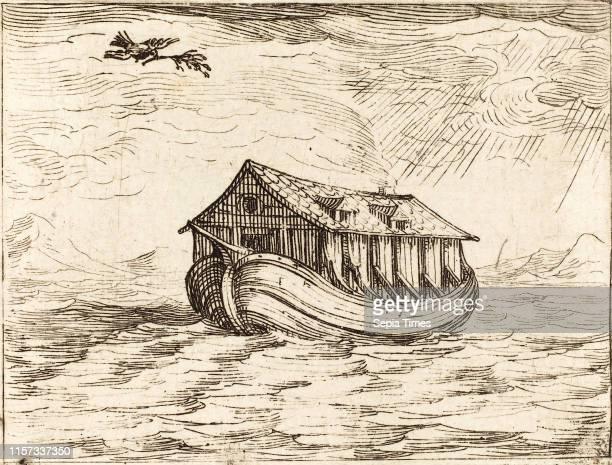 Jacques Callot Noah's Ark etching