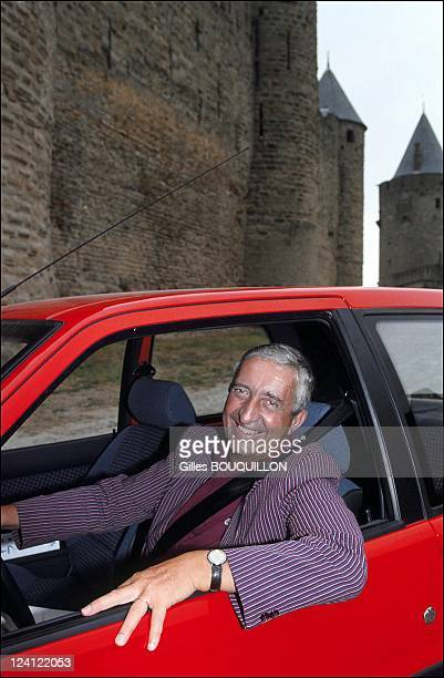 Jacques Calvet presents new Peugeot 106 In Carcassonne France On September 071991