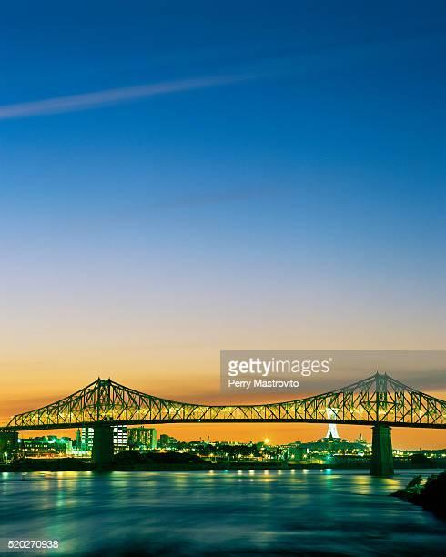 Jacques Cartier Bridge at Sunset