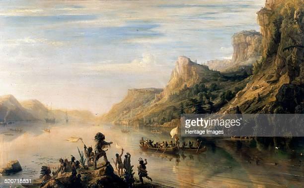 Jacques Cartier discovered the Saint Lawrence River in 1535. Found in the collection of Musée de l'Histoire de France, Château de Versailles.