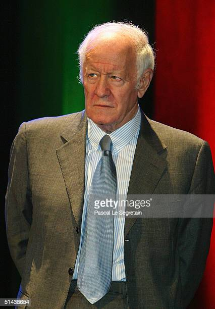 Jacques Chancel president of the Jury attends the opening ceremony of the 15th Dinard Festival Of British Film October 7 2004 in Dinard France The...