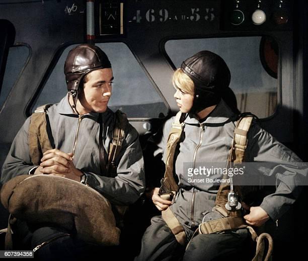 Jacques Charrier and Brigitte Bardot Babette S'en VaTEn Guerre
