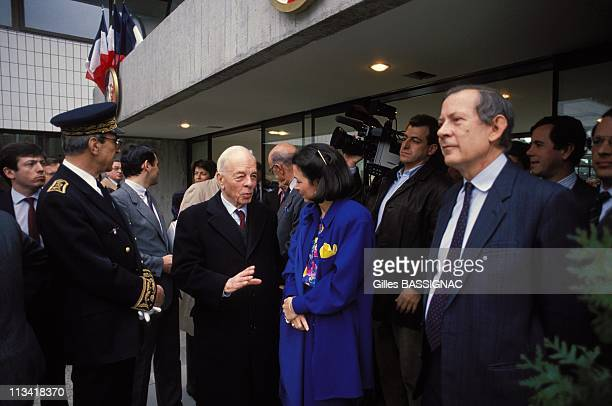 Jacques Chirac Opens J R Debre Hospital On March 21st 1988 In ParisFrance