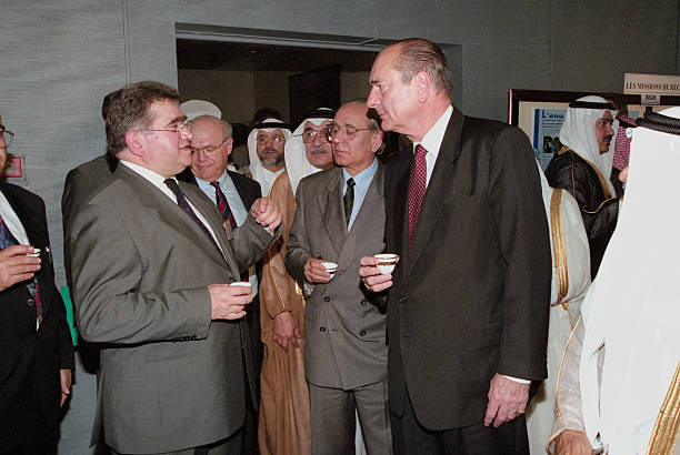 Jacques chirac trip in saudi arabia pictures getty images