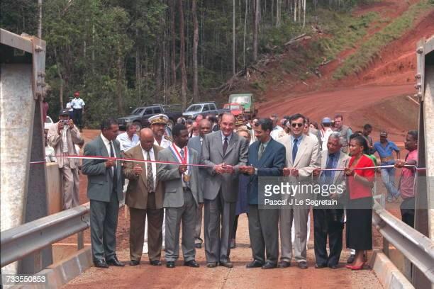 Jacques Chirac'S Visit To Guyana