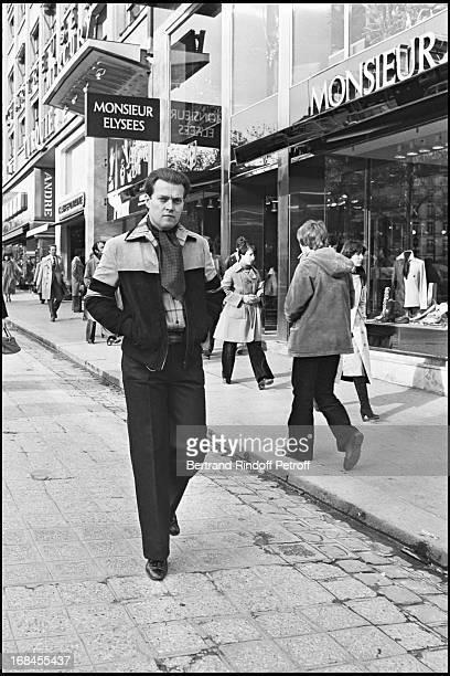 Jacques D' Orleans The Son Of The Comte De Paris Photographed On The Champs Elysees