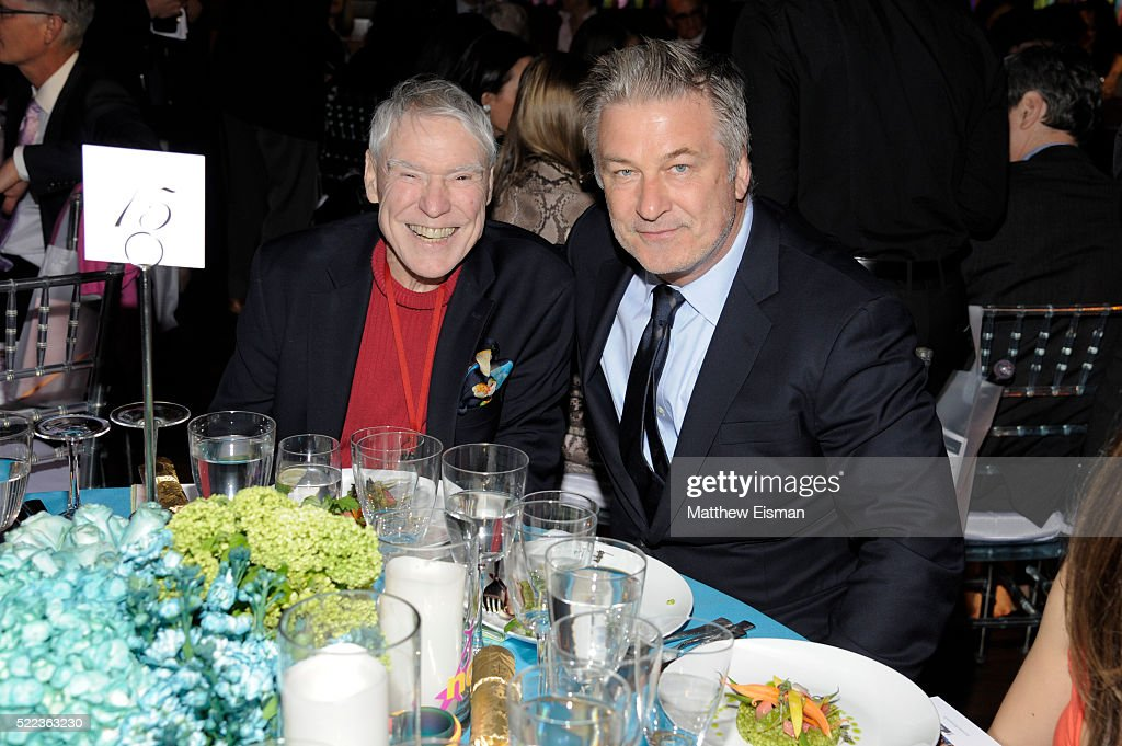 Jacques d'Amboise (L) and Alec Baldwin attend the National Dance Institute's (NDI) 40th Anniversary Annual Gala at PlayStation Theater on April 18, 2016 in New York City.