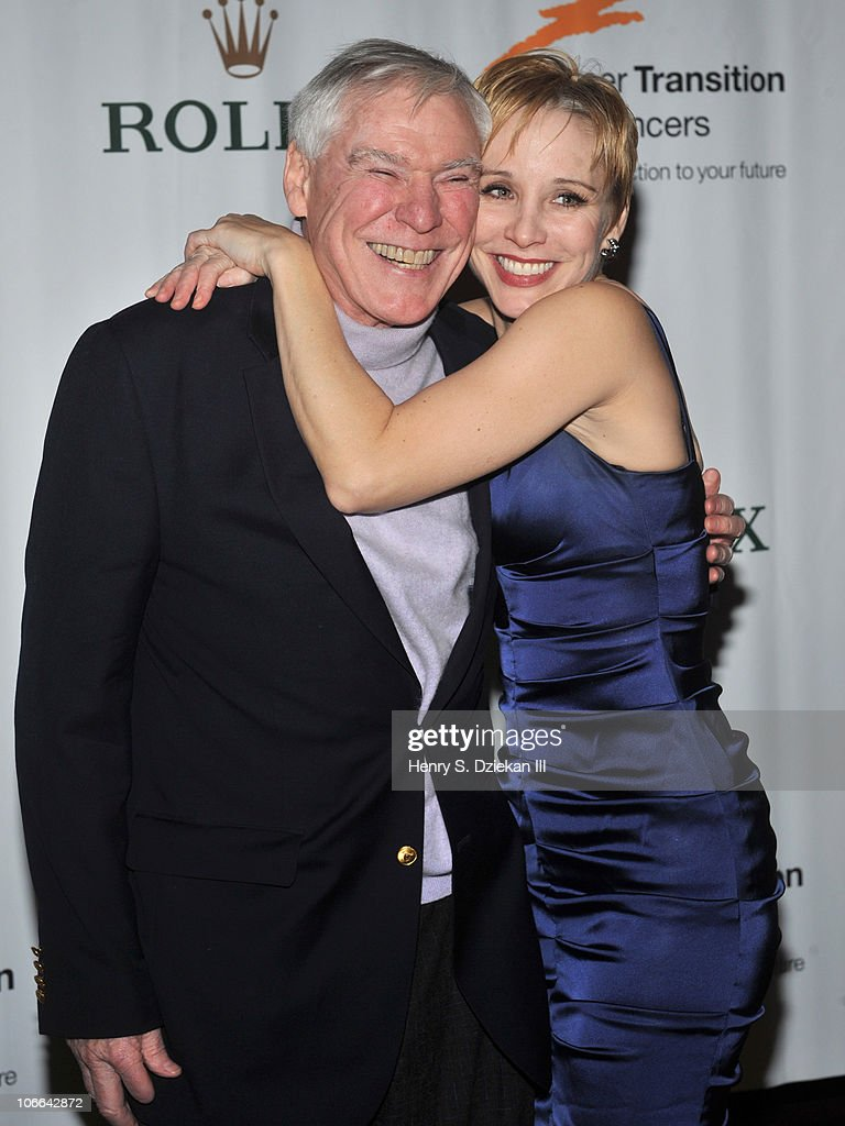 Jacques d'Amboise and dancer Charlotte d'Amboise attend the Career Transition For Dancer's 25th anniversary Silver Jubilee anniversary supper at the Hilton New York on November 8, 2010 in New York City.