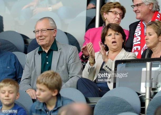 Jacques DELORS / Martine AUBRY PSG / Lille 37eme journee de Ligue 1