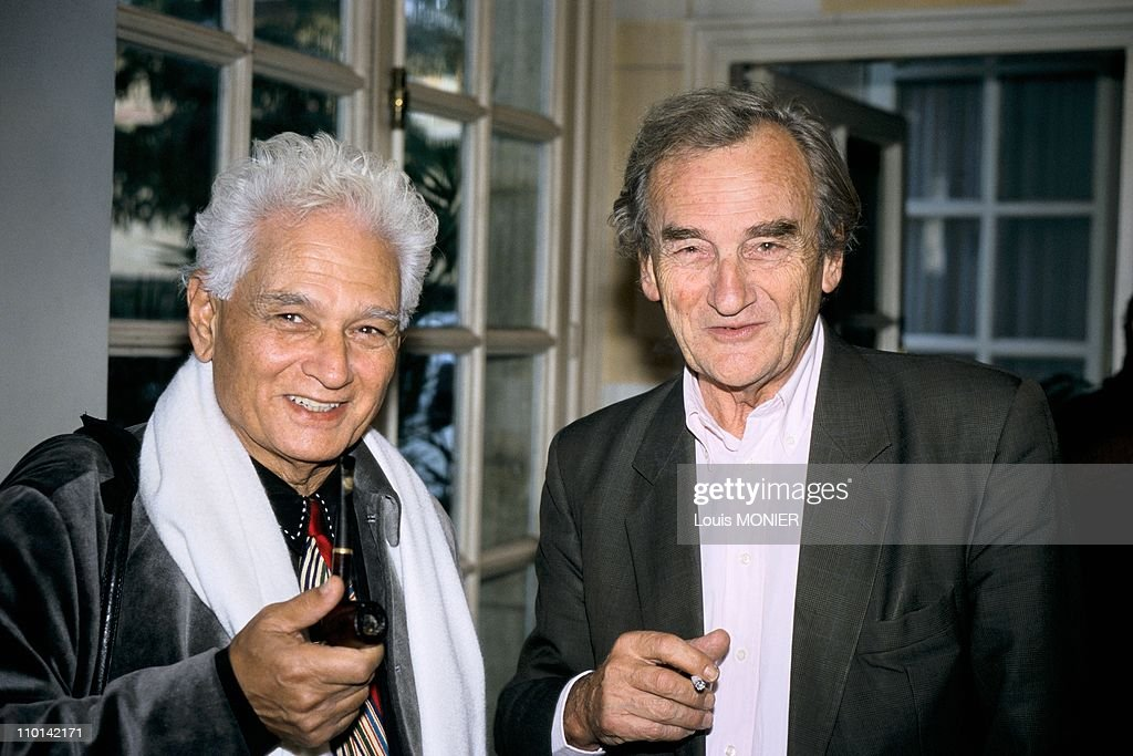 Conference of the 'Societe des Gens de Lettres' in Paris, France on October 25, 1997. : News Photo