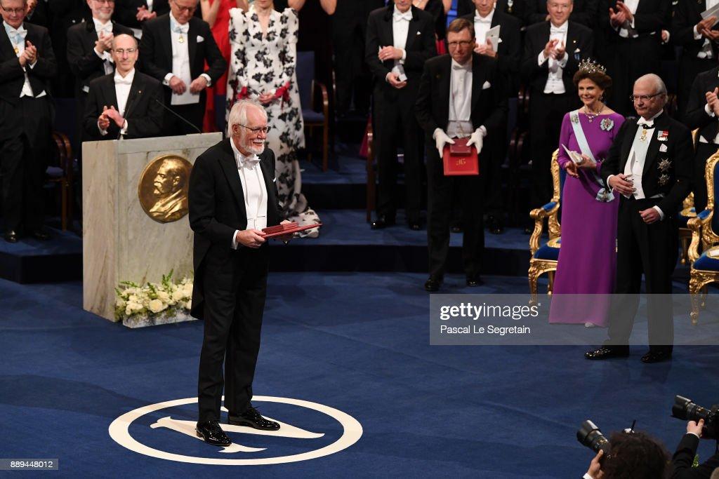The Nobel Prize Award Ceremony 2017 : News Photo