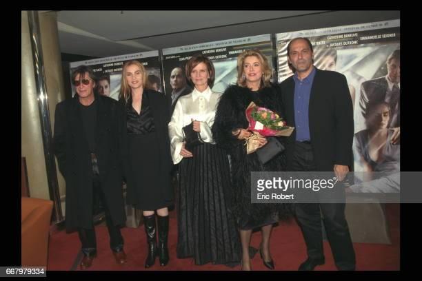 Jacques Dutronc Emmanuelle Seigner Nicole Garcia Catherine Deneuve and Jean Pierre Bacri