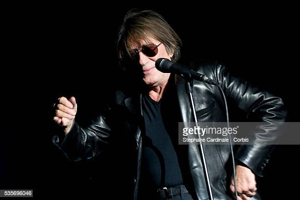 "Jacques Dutronc Performs at ""Arenes de l'Agora"" in Evry."