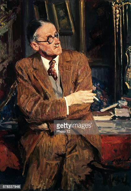 Jacques Emile Blanche Ecole d'art francaise Portrait by James Joyce 1935 Oil on canvas London National Portrait Gallery