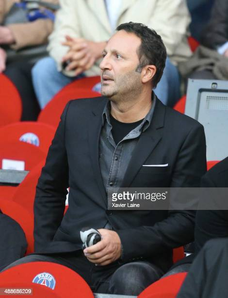 Jacques Essebag attends the French Ligue 1 between Paris SaintGermain FC and Stade Rennais FC at Parc Des Princes on May 07 2014 in Paris France