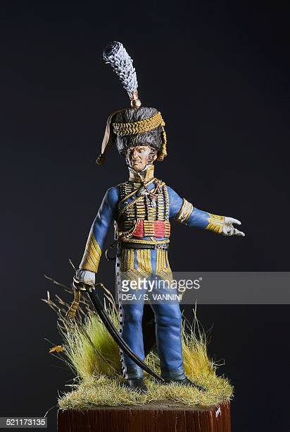 Jacques Felix Count Jan de La Hamelinaye aidedecamp to Marshal JeanBaptiste Bernadotte 54 cm toy soldier from the Napoleonic era made by Ivo Preda...