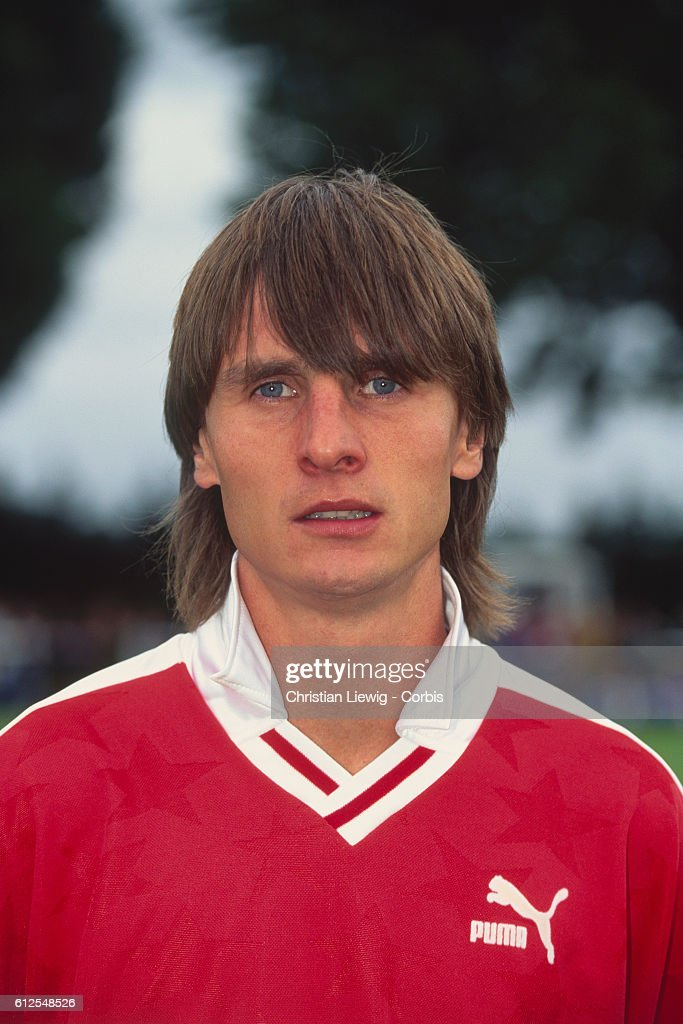 French Soccer Player Jacques Glassmann : News Photo