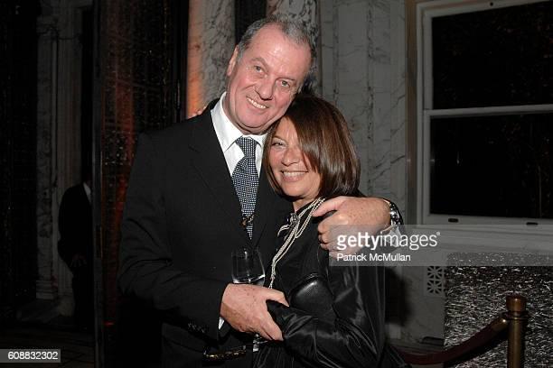 Jacques Grange and Jane Wenner attend A Dinner In Honor Of Monsieur JACQUES GRANGE To Celebrate His Nomination as Chevalier de la Legion D'Honneur at...