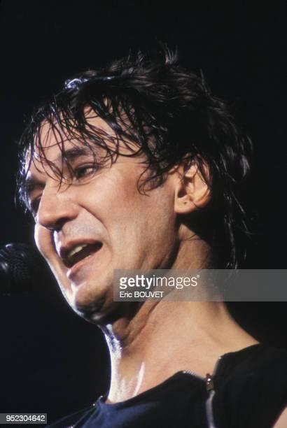 Jacques Higelin en concert au Printemps de Bourges le 3 avril 1984 France