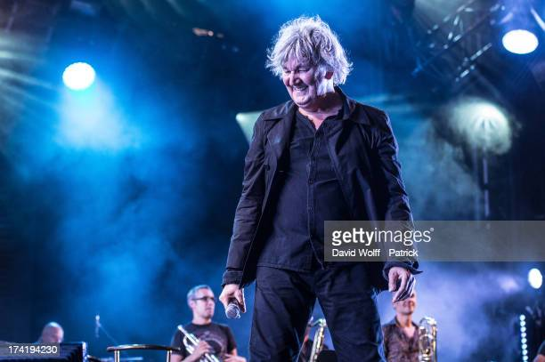 Jacques Higelin performs during the Fnac Live Festival 2013 at Hotel de Ville on July 21 2013 in Paris France