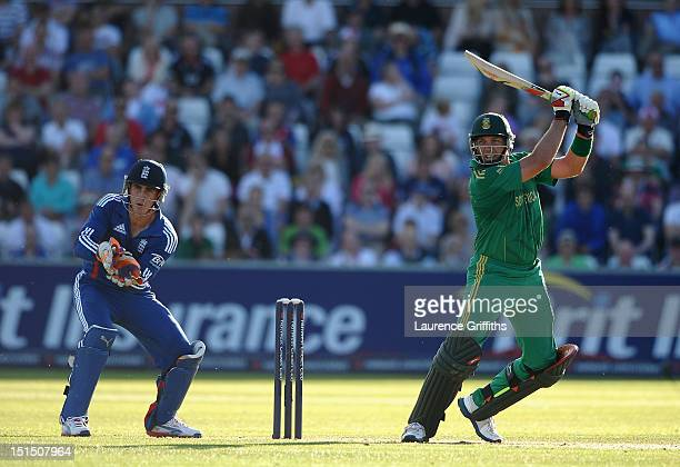 Jacques Kallis of South Africa in action during the first NatWest T20 International between England and South Africa at Emirates Durham ICG on...