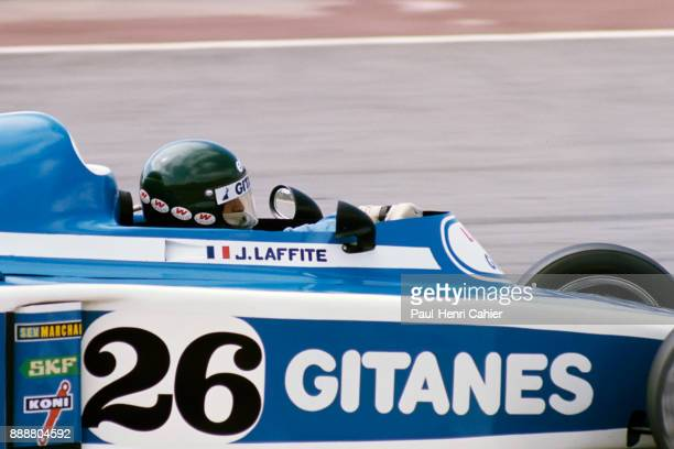 #pha.021858 Photo LIGIER JS5 JACQUES LAFFITE GRAND PRIX F1 MOSPORT PARK 1976 Car