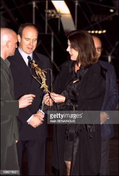 Jacques Maillot Albert Caroline in Monaco on December 15 2000