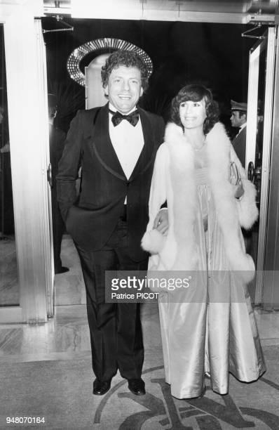 Jacques Martin et sa femme Danielle Evenou