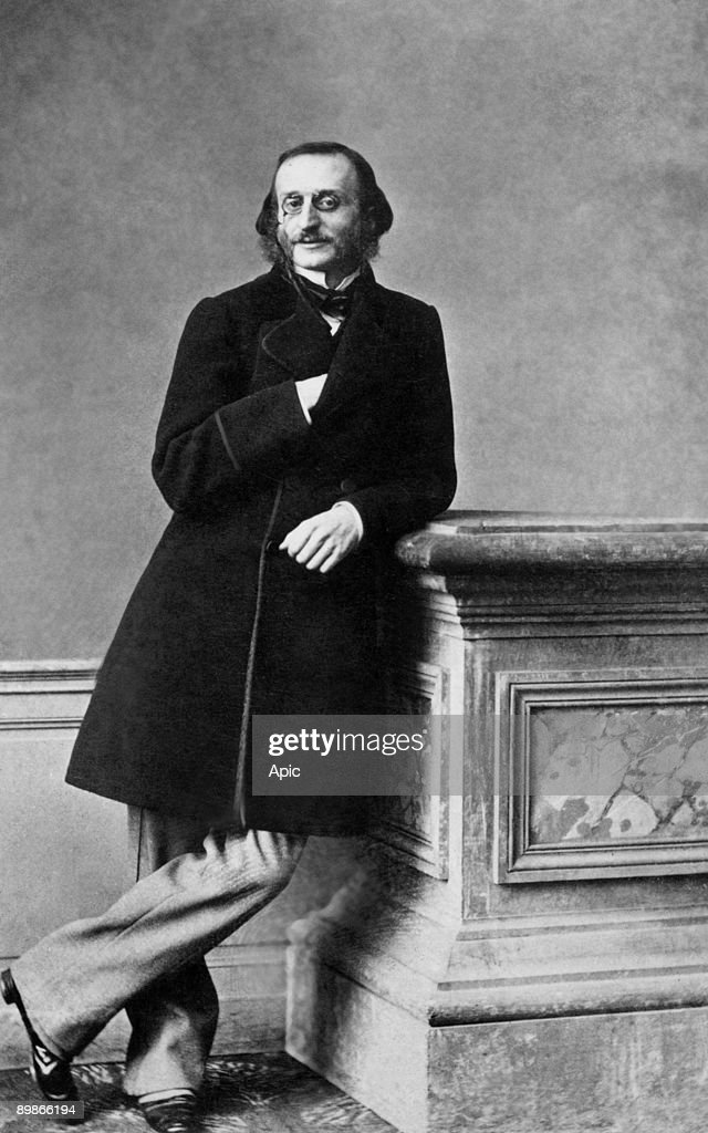 Jacques Offenbach 1819 - 1880 operetta composer french Here al epoque de la Belle Helene : News Photo