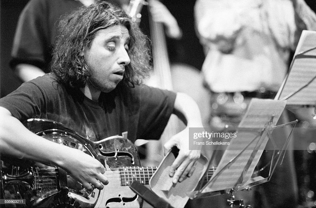 Jacques Palinckx, performs on January 31st 1999 at the BIM huis in Amsterdam, Netherlands.