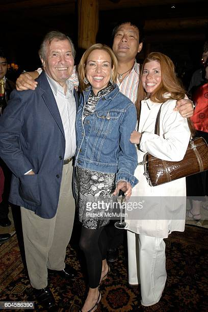 Jacques Pepin Sissy Biggers Ming Tsai and Claudine Pepin attend Maison Cordon Rouge House / Champagne Mumm / Sushi Soiree hosted by Sissy Biggers...