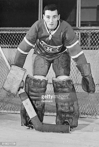 Jacques Plante Montreal Canadiens goalie